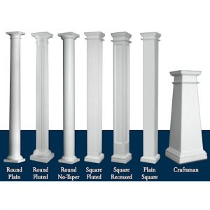 columns are available at superior moulding of nevada