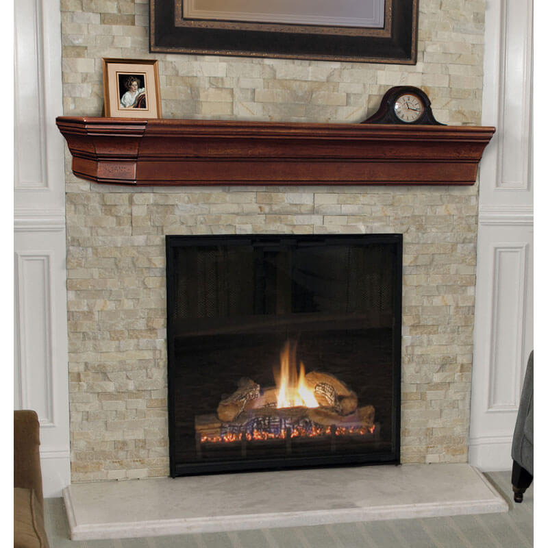 The Lindon Fireplace Mantel Shelf From Superior Moulding