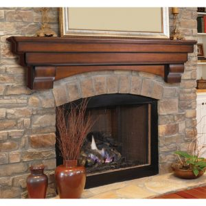 Auburn Fireplace mantel Shelf